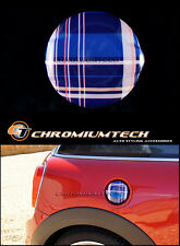 MK3 MINI COOPER S/SD JCW Blu Tartan serbatoio tappo di copertura per F55 F56 F57