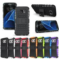 Shockproof Protective Kickstand Hybrid Case Accessory For Samsung Galaxy S7 Edge