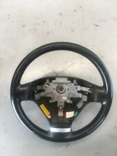 2003 Hyundai Tiburon Steering Wheel Leather Black OEM