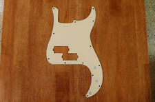 PICKGUARD AGED/VINTAGE WHITE 3 PLY FOR P BASS / PRECISION BASS