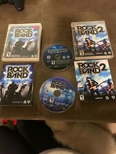 Playstation 3 PS3 Games Lot Rock Band Rock Band 2 CIB