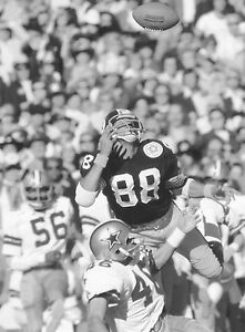 Lynn Swann - Steelers, Catch Super Bowl X, 8x10 B&W Photo