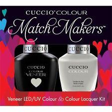 CUCCIO Veneer Match Makers - QUICK AS A BUNNY 6099 Pastel Gray Gel Nail Duo Kit