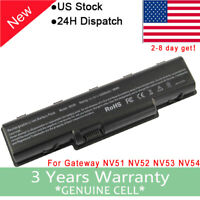 New Gateway NV52 battery Battery For NV52 NV53 NV54 NV56 NV58 NV59 Laptop 6 Cell
