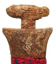 Art Africain - Peigne Baoulé Ancien & Usuel - Fins Motifs Akan - 18,5 Cms ++++++
