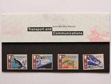 1988 Royal Mail Transport and Communication Presentation Pack 190 SNo46801