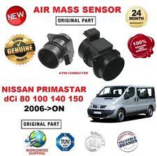 FOR NISSAN PRIMASTAR dCi 80 100 140 150 2006> AIR MASS SENSOR 6 PIN with HOUSING