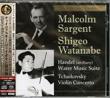 WATANABE SHIGEO (VIOLIN)-TCHAIKOVSKY: VIOLIN CONCERTO...-JAPAN SACD Hybrid H25