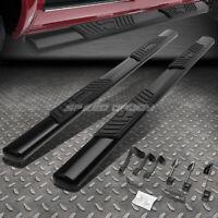"""FOR 99-16 SILVERADO/SIERRA EXT CAB 5""""BLACK OVAL SIDE STEP NERF BAR RUNNING BOARD"""