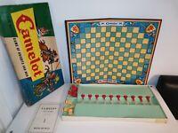 Vintage Camelot Waddingtons Board Game 1960s 100% Complete READ DESCRIPTION