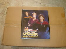 Star Trek Woman of Voyager Album with with PAGES