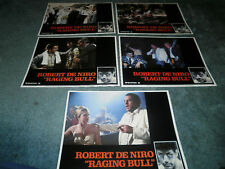 RAGING BULL(1980)ROBERT DeNIRO LOT OF 5 DIFF ORIG LCS.