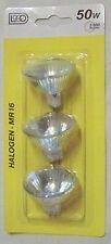 9 x Halogen Kaltlichtspiegel MR16 12V 50W Gu5,3 flood