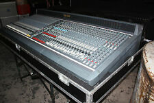 Soundcraft Vienna 2 40ch VCA mixing desk in road case large format analogue