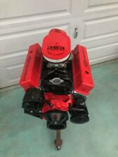 383 STROKER MOTOR 465-500HP ROLLER TURN KEY PRO STREET CHEVY CRATE ENGINE  SBC