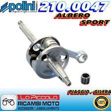 210.0047 ALBERO MOTORE SPORT POLINI ALLEGGERITO VESPA 50 SPRINT 2T