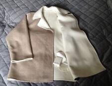 Max Mara Wool Jacket, Size 10, CAMEL & Cream New With Tag