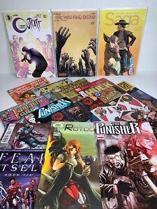 Bundle Job Lot x15 Comics Mixed Collection Set Marvel DC Image Superhero
