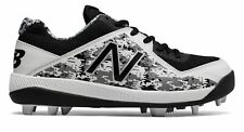 New Balance Kid's Low-Cut 4040v4 Pedroia Rubber Molded Baseball Cleat Big Kids