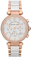 MICHAEL KORS PARKER CHRONOGRAPH WOMENS WATCH MK5774 WHITE DIAL RRP £279.00