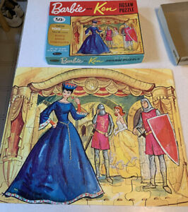 1964 Vtg Barbie Whitman Theatre Puzzle 4604 100 pcs COMPLETE