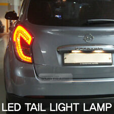 Full LED Rear Tail Light Lamp Black for SSANGYONG 2011 -2013 Actyon / Korando C