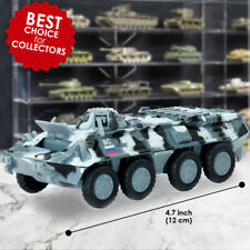 Russian Armoured Carrier BTR 80 Diecast Tank Model Scale 1:64