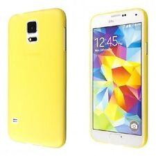 Custodia Cover Samsung Galaxy S6 Edge G9250 semi rigida GIALLA