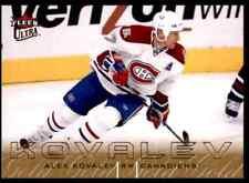 2009-10 Ultra Gold Medallion  Alex Kovalev #179