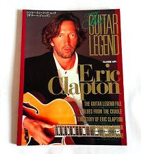 Eric Clapton The Guitar Legend Japan Visual Book 1997 Yardbirds Cream Crossroads