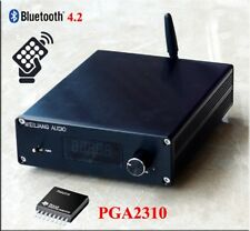 Assembled F3 Bluetooth 4.2 Remote Preamplifier Stereo HiFi PGA2310 Preamp