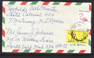 Mexico 1979 Air Letter Monterrey to Michigan