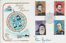 Pen HADOW SIGNED Autograph FDC AFTAL COA First Day Cover British Polar Explorer