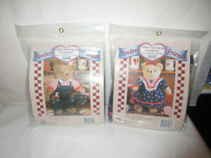 Holiday Teddy Bear Baking Clothes-Outfits- Hot Cocoa&Cookies-2 PKGS UNOPENED