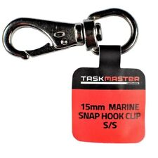 Taskmaster Marine Snap Hook Swivel Clip 15mm Stainless Steel *Australian Brand