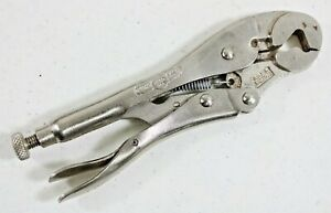 Vintage Petersen Vise Grip Pliers 7LW Parrot Head Locking Hex Wrench Dewitt USA