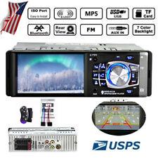 4.1 inch 1DIN Car Radio Bluetooth SD FM Stereo MP5 USB Player In-dash Audio HD