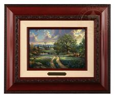 Thomas Kinkade Country Living Framed Brushwork (Brandy Frame)