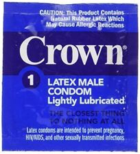 24 Okamoto Crown Condoms, World Famous Super Thin and Sensitive Condom, for Extr