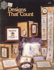 Designs That Count Cross Stitch Gloria & Pat  Booklet 6 Baby Bell Pull Potty Boy