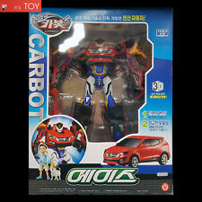 Hello Carbot Santafe Ace Red Transformer Transforming Robot Car Toy Hyundai 1/23