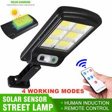 Chip-on-board impermeable de 128 LED Energía Solar Sensor De Movimiento Luz De Pared Lámpara De Jardín Lámpara al Aire Libre