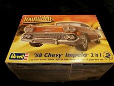 Revell 1/25 1958 Chevy Impala 2 in 1 American Car Great Condition Super Rare
