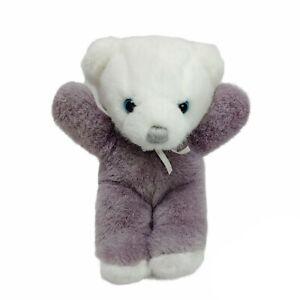 Vintage 1979 Dakin Cuddles Teddy Bear Blue Eyes Plush  Soft Toy Washed 22cm