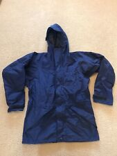 Vintage Marmot Gore Tex Jacket Size Small Navy Blue Ski Hooded Lined