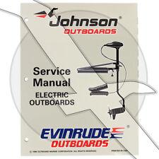 Johnson Evinrude 1997 Trolling Motor OEM Shop Factory Repair Service Manual