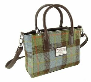 Authentic Harris Tweed Small Tote Bag | With Shoulder Strap | LB1228 COL 15