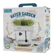 New listing Back to the Roots Water Garden, Self-Cleaning Fish Tank/Mini Aquaponic Ecosystem