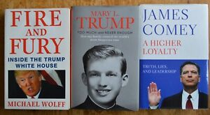 Mary L Trump - Too Much And Never Enough Hardback + 2 Related Exposés