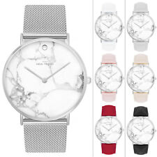 Damenuhr Armbanduhr Herren Uhr Uhren Farbe Rosegold Silber Marmor Mesh Schwarz